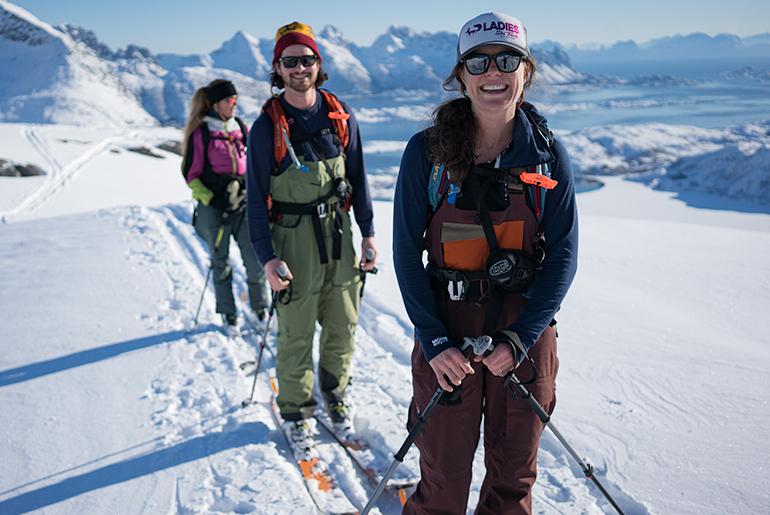 Private ski weekend Lofoten